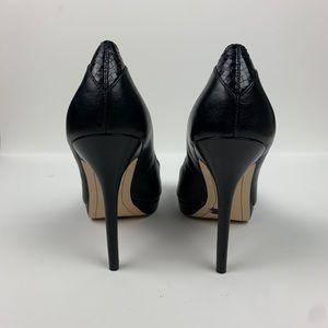 Sam Edelman Shoes - Sam Edelman Ella Peep Toe Platform Pumps Black 7